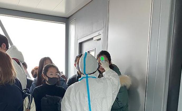 北京市机场、火车站对武汉来京旅客测温