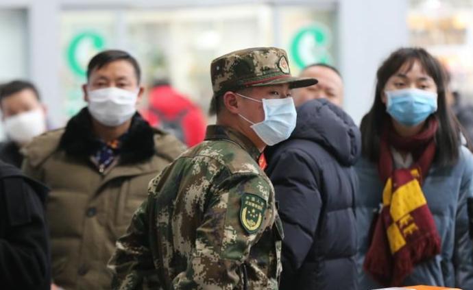 武漢市政府:決定在公共場所實施佩戴口罩的控制措施