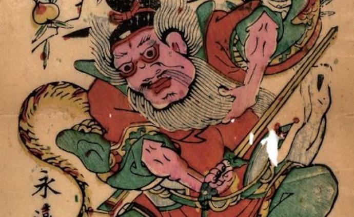 民间艺术与年味①|神荼郁垒,驱邪卫宅有门神