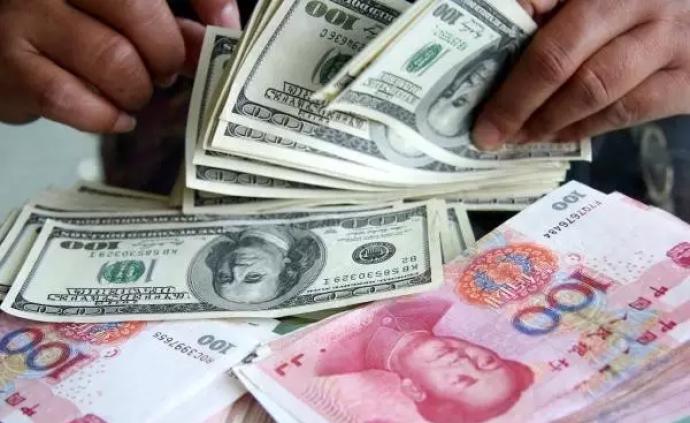 """直线拉升,人民币对美元即期汇率一度收复""""7""""关口"""
