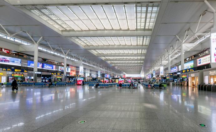 正月十四全國發送旅客1141.5萬人次,比去年下降85%