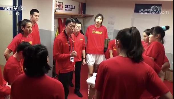 爆燃!這就是中國女籃的精氣神