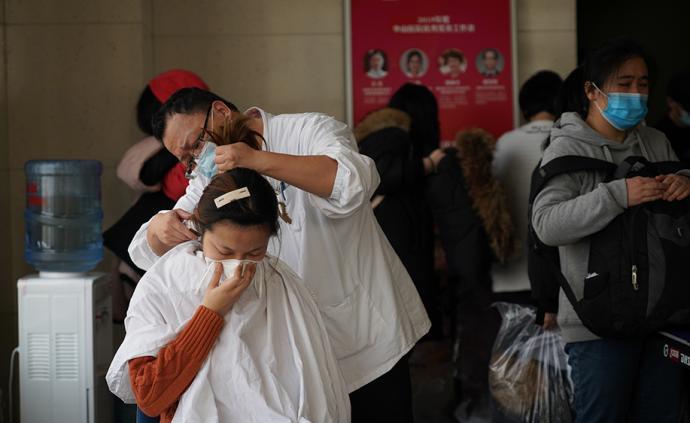 上海華山醫院第四批支援湖北醫療隊集結出發,共214人