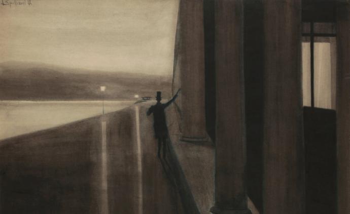 一位被遮蔽的比利時畫家:無名的天才面對孤獨的大海