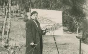 1950年代初的刘海粟与上海美专