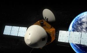 中国火星探测器外观构型首次公布,将一次实现环绕着陆巡视