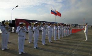 中俄海上联合军演双方互鸣礼炮,中方兵力集结完毕