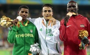 里约残奥会田径男子1500米前四名成绩均超过奥运冠军