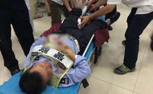 上海一男子骑无牌无证摩托闯高架,撞倒执法民警致其双腿骨折