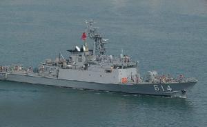"""""""南海仲裁案""""发布当日,台军舰将停泊太平岛执行运补任务"""