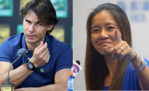 一个网球速记员的自我修养:纳达尔和李娜谁英文更差?