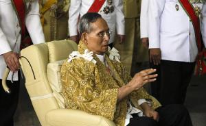 """""""泰国人心中的神""""走了:全球在位时间最久国王普密蓬病逝"""