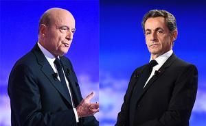 法国大选共和党初选辩论:萨科齐强硬路线和朱佩温和路线之争