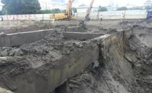 杭州地铁在建工地基坑发生土体突涌,4名施工人员遇难