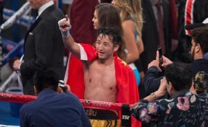 邹市明的拳击新时代:他每天都在训练,他只是一个拳手