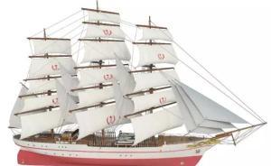 """海军首艘风帆训练舰""""破浪""""号明年底下水,装备它落伍吗?"""