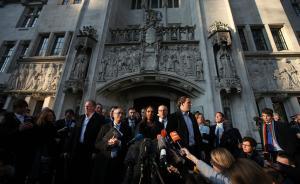 """释新闻 英最高法判决难改脱欧大方向,但""""硬脱欧""""将受掣肘"""