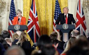 """英首相访美""""成果"""":说服特朗普支持北约,确定特朗普访英"""