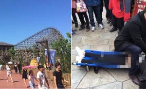 宁波一年轻女游客排队时意外身亡,事发时公园开门仅一小时