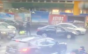 合肥一违法车主殴打取证协警致其头部受伤,逃跑被抓拘10日