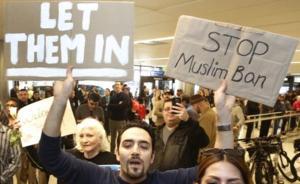 """美法官叫停特朗普移民禁令,白宫称""""粗暴""""将联合司法部反击"""