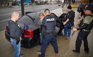 美执法部门突击拘捕数百非法移民:与限穆令无关是例行执法