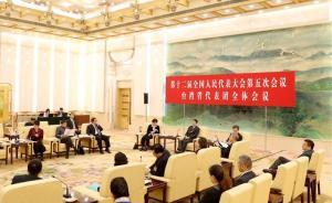 """代表委员谈台湾问题:""""台独""""温水煮青蛙的态度必须警惕打压"""