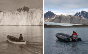 趣看|时间记录者:他用照片展示百年气候变化对极地的影响