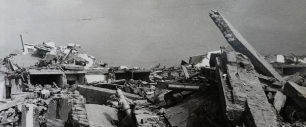 唐山大地震现场图片.李志良 供图图片