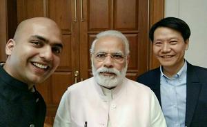 雷军访印和莫迪玩自拍,被印度总理问小米可否预装政府App