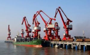 """港口股暴涨逻辑:一带一路受益者,""""江苏省港口集团""""助涨"""