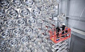 趣看|如果白天有24小时?德国建成世界最大人造太阳塔