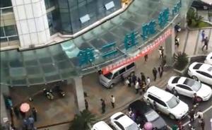 四川泸州一患者父亲在医院坠楼,警方:从厕所窗户自行翻出