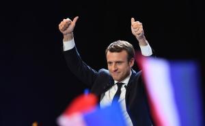 """法国前总统萨科齐称将""""助力""""马克龙:因实在不愿投给勒庞"""