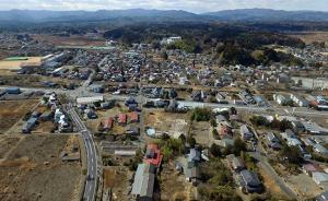 为清理核污染,日本政府在地图上标注出可以深埋废弃物的地区