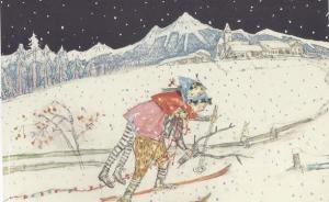 安徒生奖插画巡礼之一:从卡瑞吉特的大雪到赤羽末吉的水墨