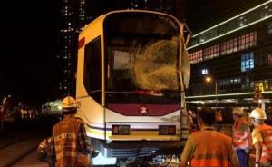 香港天水围轻轨与巴士相撞,超过20人受伤、3人伤势较重