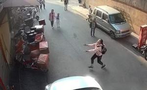 12岁女生勇接坠楼男童:知道自己可能会受伤,更怕小孩受伤