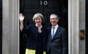 英国首相梅偕夫上电视秀恩爱:称维护婚姻秘诀是互相付出