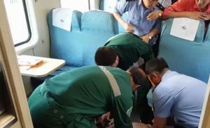 暖闻|火车上男子突然病危,山东男护士口对口人工呼吸抢救