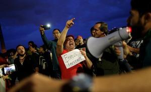 巴西各地举行大规模示威游行,要求总统特梅尔下台