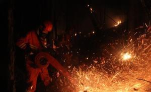 内蒙古那吉林场火灾火场已投入7架飞机、4080人参与扑救