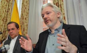 阿桑奇将向法国寻求政治庇护,英国警方称若离开使馆仍会被捕