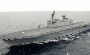 韩准航母首次参加美韩军演,两艘美航母或将会师朝鲜半岛海域