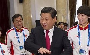 """习近平诠释""""奥运精神"""":体育强国梦与中国梦紧密相连"""