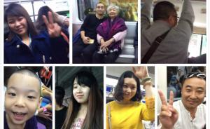 重庆八旬老奶奶为让座者留影:让座非年轻人义务,已拍61人