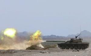 讲武谈兵丨96B主战坦克参赛缘何首轮三炮全脱靶?
