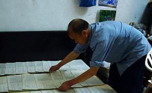 1977年高考江西考生甘福保:每年都会买一份高考试卷收藏