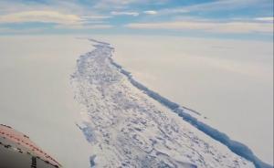 差13公里,这块南极冰架或成最大冰山