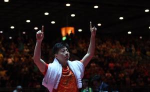 马龙险胜樊振东世乒赛夺冠,赛后他先感谢了张继科